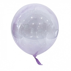 "Шар-сфера Bubble Purple 18""/46 см"