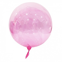 "Шар-сфера Bubble Pink 18""/46 см"
