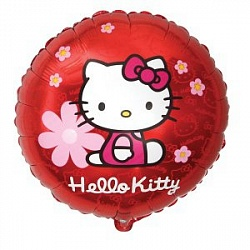 "FM Круг И-335 Hello Kitty в цветочках 18""/45см"